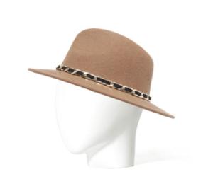 Zara - chapeau feutre chaîne - 22,95 euros