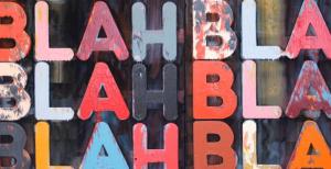 Grand Palais -  Mel Buchner - blah blah blah