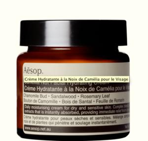 Aesop - Crème hydratante noix de camélia - 39 euros
