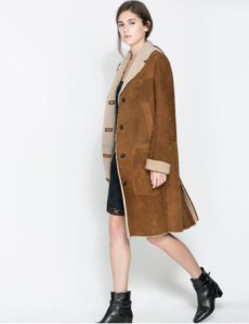 Zara - Manteau long studio - 699 euros
