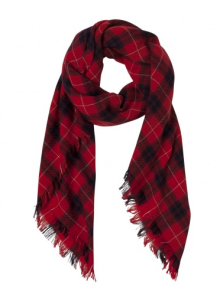 the kopples - echarpe tartan en laine - 129 euros