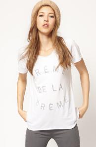 Zoe Karssen - T-shirt Creme de la Creme - 75,48 euros