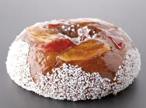 Cyril Lignac - gateau des rois Brioche décorée de fruits confits - 36 euros