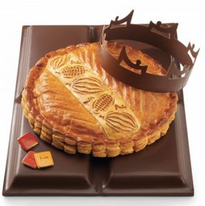 La maison du chocolat - Galette au ganache noir d'un cacao pure origine Perou - 30 euros